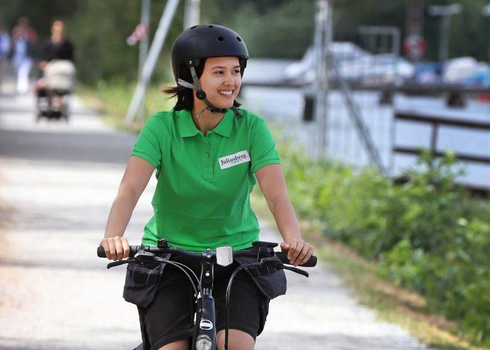 75% av våra kunder får service av personal som åker miljövänliga alternativ